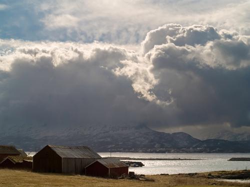Photo of cloud river taken with Olympus E-500 digital single-lens reflex camera