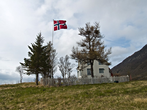Picture from 17th of May in Northern Norway - The Norwegian National Day
